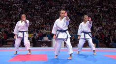 (2/2) Karate Japan vs Italy. Final Female Team Kata. WKF World Karate Ch...