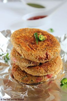 Bengali style Vegetable Chops | Stuffed Beetroot Cutlets