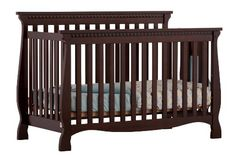 Stork Craft Venetian 4-in-1 Fixed Side Convertible Crib, Espresso - http://www.discoverbaby.com/new-arrivals/furniture/stork-craft-venetian-4-in-1-fixed-side-convertible-crib-espresso/