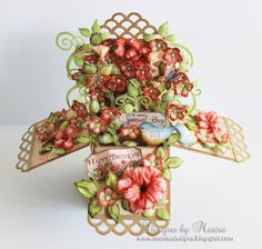 Designs by Marisa: Heartfelt Creations - Happy Birthday Pop Up Box Card