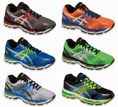 Men's colors - ASICS GEL Nimbus 17 review by 'I Run 4 Wine.' #shoes #runner #running