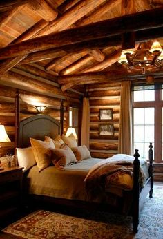 Beautiful Rustic Interior Design - 35 Pictures Of Bedrooms