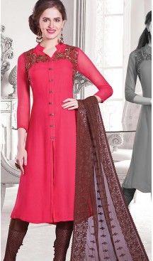 Deep Pink Color Georgette Achkan Style Designer Readymade Salwar Kameez | FH513078104 #salwar, #kameez, #readymade, #anarkali, #patiala, #pakistani, #suits, #online, #stitched, #indian, #dress, #material, #shopping, #fashion, #boutique, #mode, @heenastyle , #designer , #pakistani , #evening , #wedding , #casual , #palazzo , #patiyala , #punjabi , #churidar , #narrow