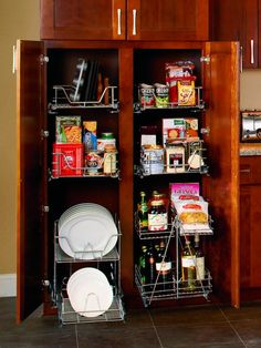 Pantry Organization and Storage Ideas | Home Remodeling - Ideas for Basements, Home Theaters & More | HGTV