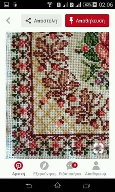 Needles Vancouver K610 Counted Cross Stitch Pattern 4 Printed Schemes Inside Embroidery Pattern Hoops No Fabric Threads
