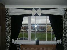 Pelmets, Curtains and Tiebacks all handmade