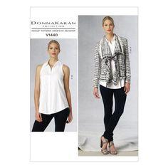 Vogue V1440 Misses' Jacket, Top & Pants