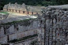 Uxmal Maya Ruins Yucatán, Méjico