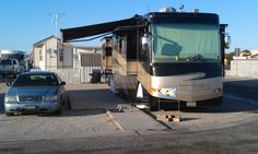 Spent a week here at Sunset Palm RV Park in Yuma, Arizona. Ran all over the place with some RV-ing freinds that happened to be next RV park over behind us. Got dates and had date milkshakes and even ran out to San Diego to see two POGO friends.