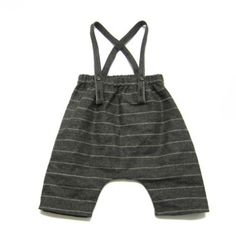 Treehouse baby suspender pants