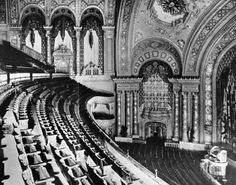 Balcony of the Mastbaum Theater