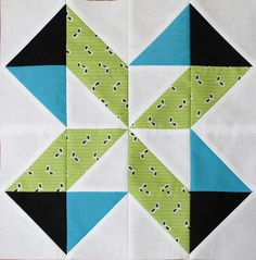 Lucky Pieces quilt block tutorial
