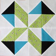 Lucky Pieces quilt block tutorial