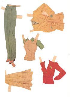 Miss Missy Paper Dolls: Betty Grable 1941