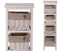 Muebles de Baño con Cajones de Mimbre - Para Más Información Ingresa en: http://banosmodernos.com/muebles-de-bano-con-cajones-de-mimbre/