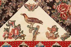 Julie Silber detail of broderie perse chintz quilt