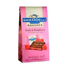 Dark & Raspberry Squares (Ghirardelli - 4% donation)