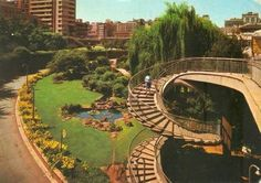 Johannesburg Station Garden mid 1960's. Good Old Times, The Good Old Days, Water Sources, South Africa, Landscape Photography, Past, Cityscapes, Pictures, Photos