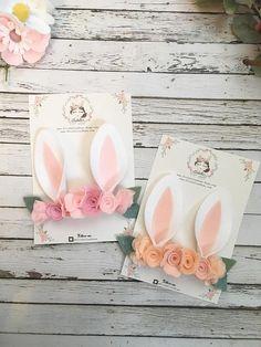 Diadema de orejas de conejito traje de Bunny Bunny venda