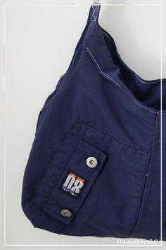 Mammabook: Borsa da una giacca a vento (senza tagliare) – Bag from a child jacket (no cutting)