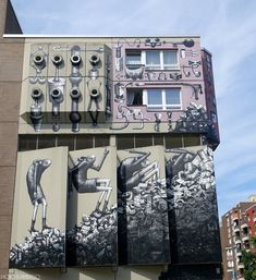 https://flic.kr/p/26sWso7 | PHLEGM | Berlin You can find the location of this wall there: benedicte59.wordpress.com/2018/05/22/mai-2018-street-art-...
