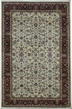 Kashan rugs are most famous of Persian carpet design for their expansive floral patterns and all-over Shah Abbas field.  http://www.alrug.com/3735