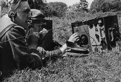 Kurt Meyer,with a Radio operator