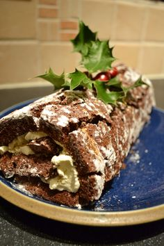 Alcoholic Christmas Log/ Swiss Roll
