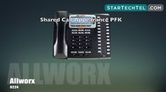 How To Place A Call On The Allworx 9224 Phone