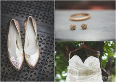 Gorgeous accessories to compliment a simple yet beautiful dress. #weddingaccessories  #uniqueweddings #njweddings #njbride #brides #diybride #shoes #earrings #weddingdress #outdoorweddings