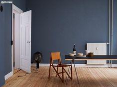 Bilderesultat for st pauls blue Blue Rooms, Blue Bedroom, Blue Walls, Interior Styling, Interior Decorating, Interior Design, Elle Decor, Room Colors, Wall Colors