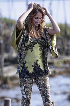 Coleccion Marjolaine SS16 #Lenceria #lingerie