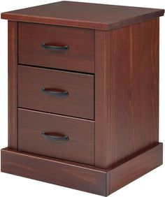 Wyatt 3 Drawer Nightstand Bedroom Furniture Uk, Dining Furniture, Furniture Design, Living Room Partition Design, Interior Design Living Room, Baby Cradle Wooden, Leather Corner Sofa, Shaker Furniture, 3 Drawer Nightstand