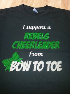 I support a cheerleader from bow to toe by CrystalsCreations98