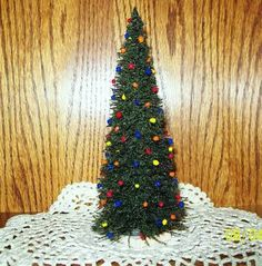 doll miniature christmas tree - Google Search