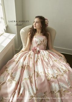 Pretty dress for anybody who likes to feel pretty. Satin Dresses, Ball Dresses, Ball Gowns, Prom Dresses, Wedding Dresses, Pretty Dresses, Beautiful Dresses, Dress Sites, Laura Ashley