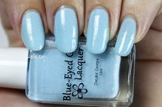 Swatch of Blue-Eyed Girl Lacquer's Sewing Shadows