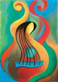 Whirly guitar