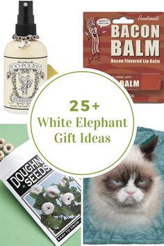 Funny white elephant gift ideas christmas