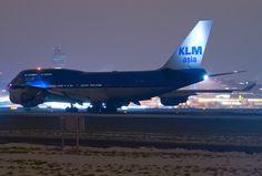 Night Flight - KLM Royal Dutch Airlines Boeing 747-406M PH-BFF