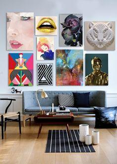 The Cool Hunter - Art Display, Living Room