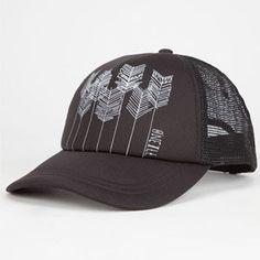 fa4111327f1eb O NEILL Beach Bound Womens Trucker Hat - BLACK - 15496002