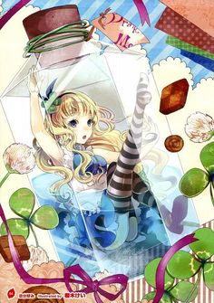 alice in wonderland alice liddell anime cute girl pastel Lewis Carroll, Manga Anime, Manga Art, Anime Art, Lolita Anime, Chibi, Alice Liddell, Chesire Cat, Drawn Art