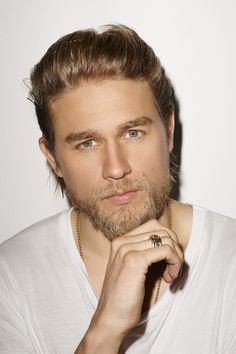 Charlie Hunnam - Christian Grey. Kind of excited that he got the part! I love him in SOA!!