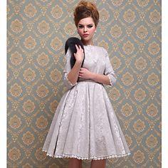 TS Wonderful Royal Style Dress – USD $ 69.99