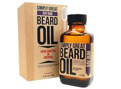 A little dab of beard oil is the trick to a softer beard. | 11 Easy Tips For Grooming Your Facial Hair