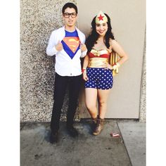 Wonder Woman & Superman Couples Halloween Costume DIY