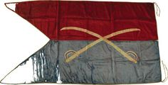Custer's personal civil War Flag hand-sewn by his wife Elizabeth.