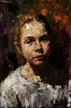 Children's portraits - Anatoly Shumkin