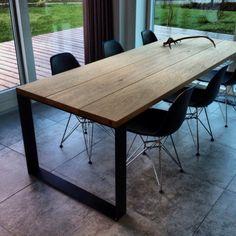 Table top in oak wood - Woodstyle.dk
